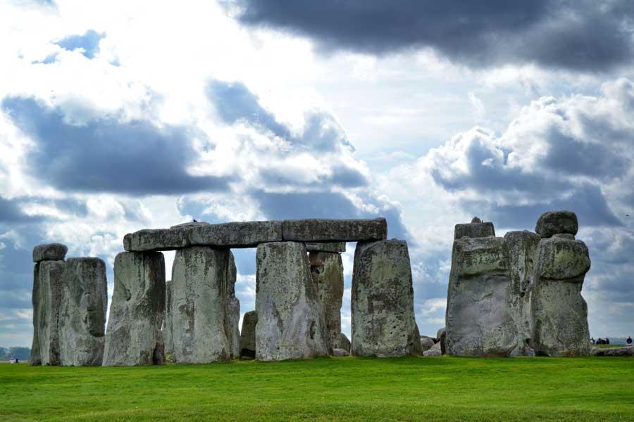 İngiltere gezilecek yerler Stonehenge anıtı fotoğrafları - England Stonehenge prehistoric monument