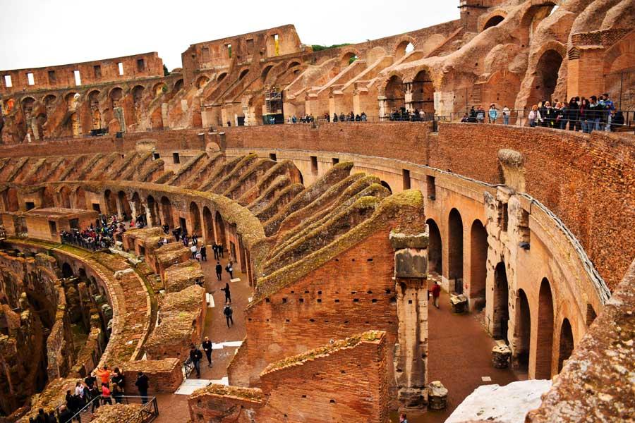 Antik Roma yapıları Kolezyum fotoğrafları - Rome ancient arena Colosseum photos