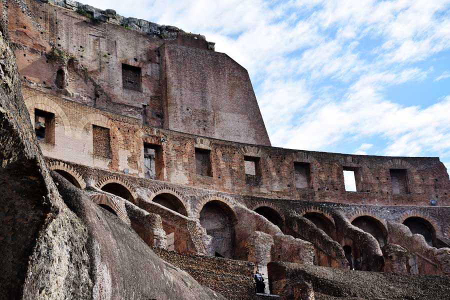 Antik Roma yapısı Kolezyum fotoğrafları - Colosseum photos