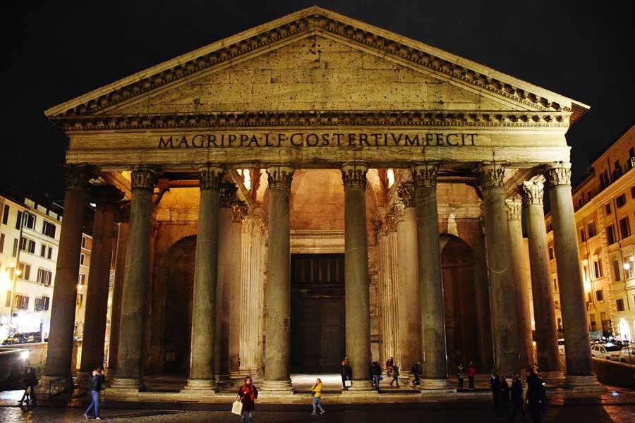 Antik Roma'nın en büyük tapınağı Pantheon - Ancient Pantheon photos