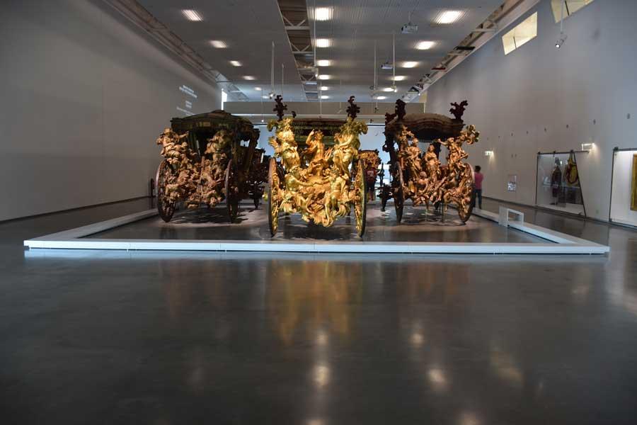 Antika fayton Ulusal Fayton Müzesi fotoğrafları - Lisbon National Coach Museum (Museu Nacional dos Coches)