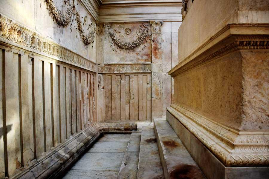 Ara Pacis Müzesi ve Ara Pacis (Görkemli Barış Sunağı) - Rome Ara Pacis Museum and Ara Pacis gate