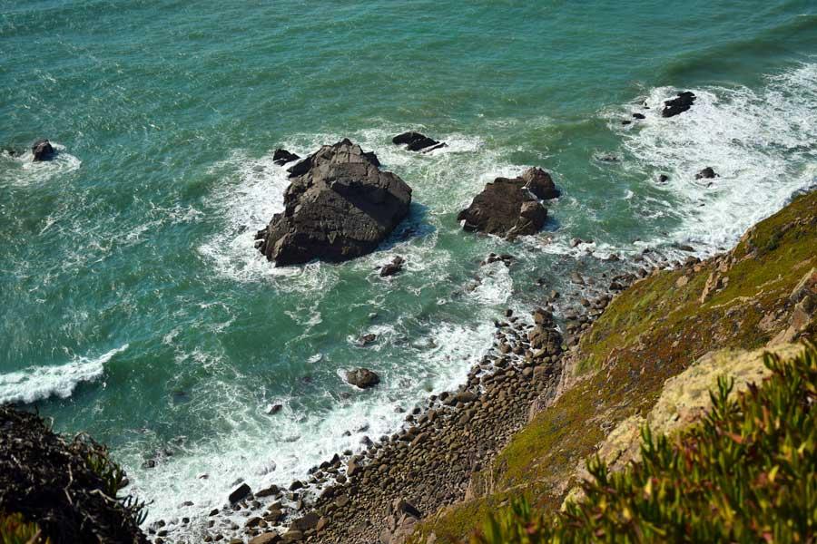Avrupa'nın en batı ucu Roca Burnu - Europe's westernmost Roca Cape Monument Cabo da Roca