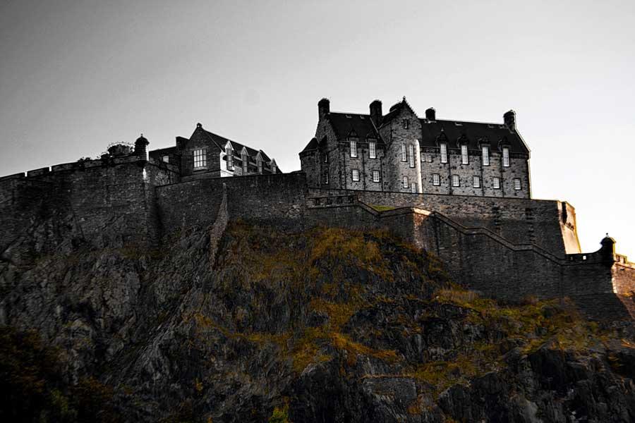 Edinburgh fotoğrafları Edinburgh kalesi ya da Castle Rock - Edinburgh Castle photos