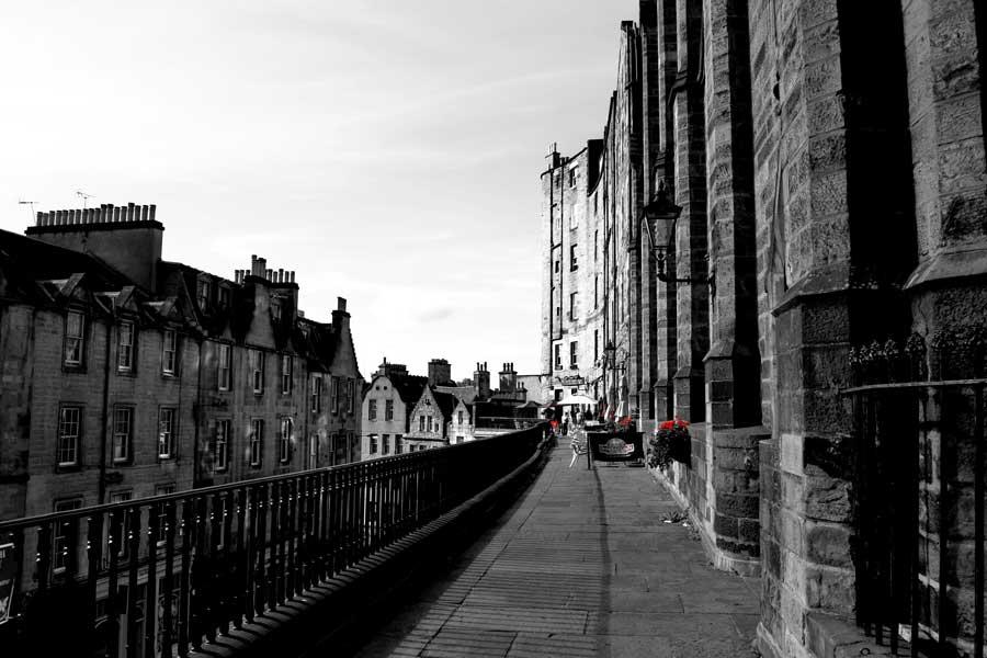 Edinburgh fotoğrafları Edinburgh kenti tarihi sokakları - Edinburgh photos streets of Edinburgh