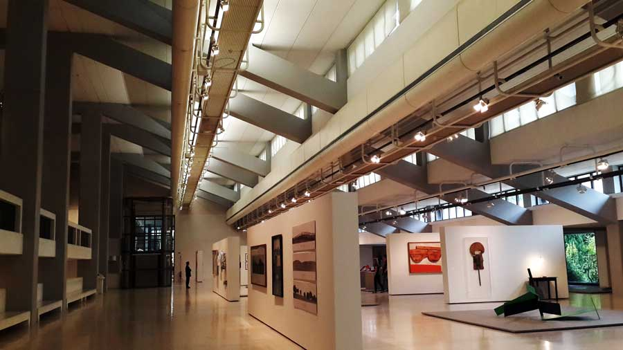 Gülbenkyan Müzesi Lizbon sergi salonları - Lisbon Gulbenkian Museum (Museu Calouste Gulbenkian)
