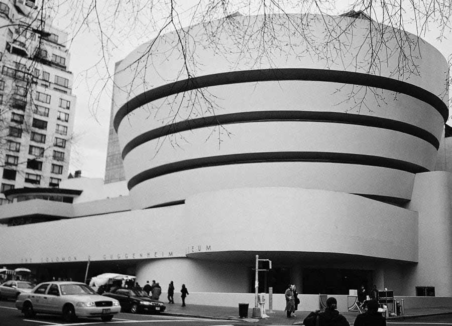 Guggenheim Müzesi New York fotoğrafları - New York City photos Guggenheim Museum Frank Lloyd Wright
