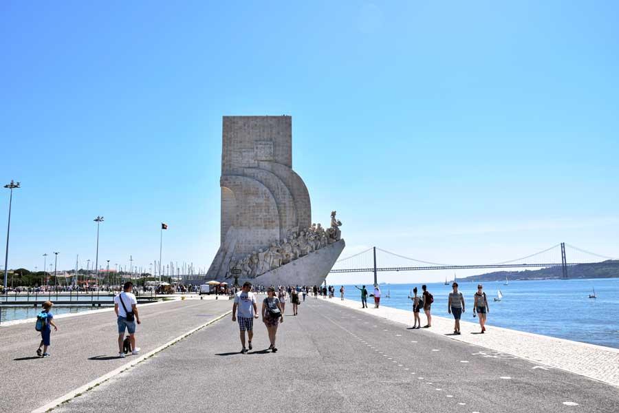 Keşifler Anıtı fotoğrafları Belem Lizbon - Monument of Discoveries (Padrão dos Descobrimentos)