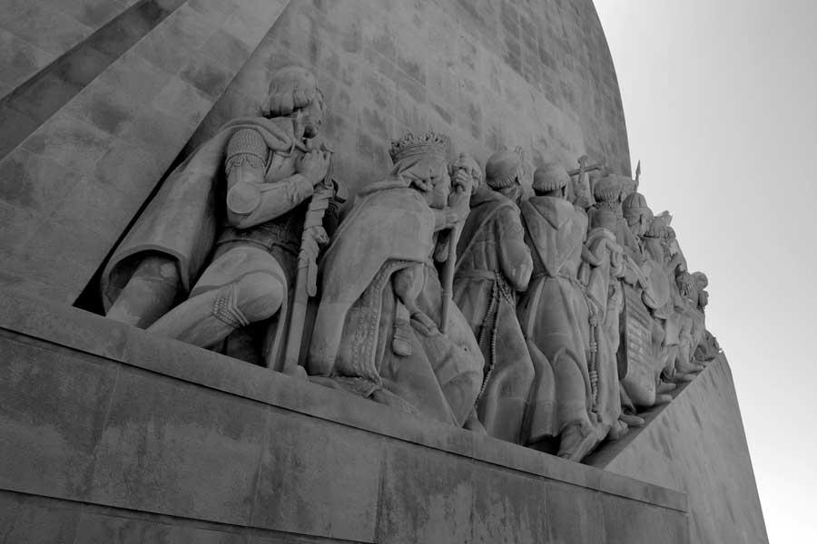 Keşifler Anıtı veya Kaşifler anıtı Belem Lizbon - Padrão dos Descobrimentos (Monument of Discoveries)