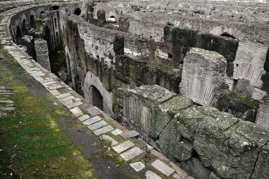 Kolezyum fotoğrafları Kolezyum arenası altı - Colosseum underground photos under the arena