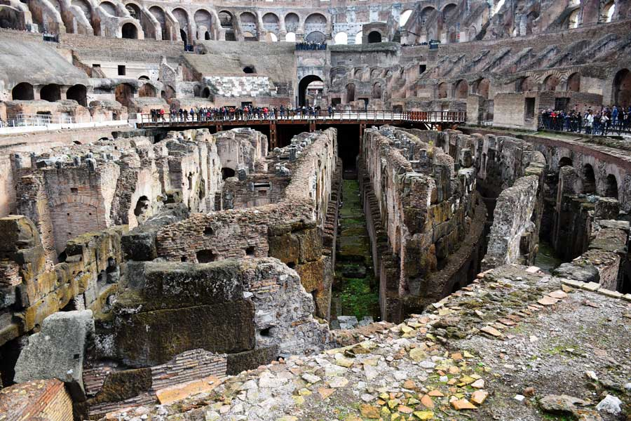 Kolezyum fotoğrafları arena alanı altı - Colosseum underground photos under the arena