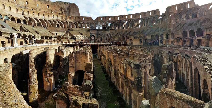 Kolezyum fotoğrafları arena altı - Colosseum underground photos under the arena