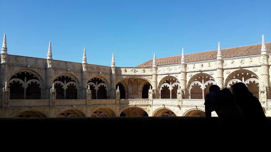 Lizbon Belem gezilecek yerler Jeronimos Manastırı fotoğrafları - Lisbon Jeronimos Monastry photos (Mosteiro dos Jerónimos)