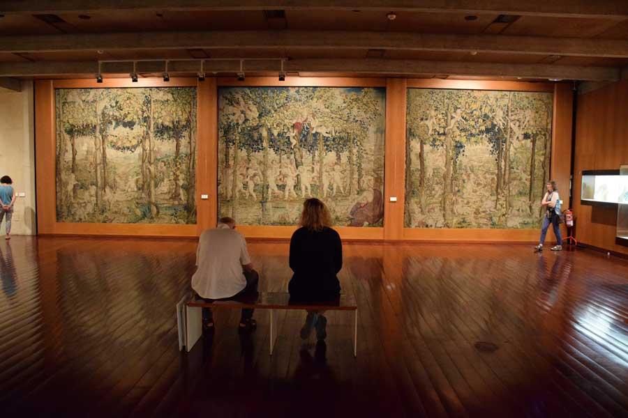 Lizbon Gülbenkyan Müzesi Rönesans salonu - Lisbon Calouste Gulbenkian Museum (Museu Calouste Gulbenkian) Renaissance Hall