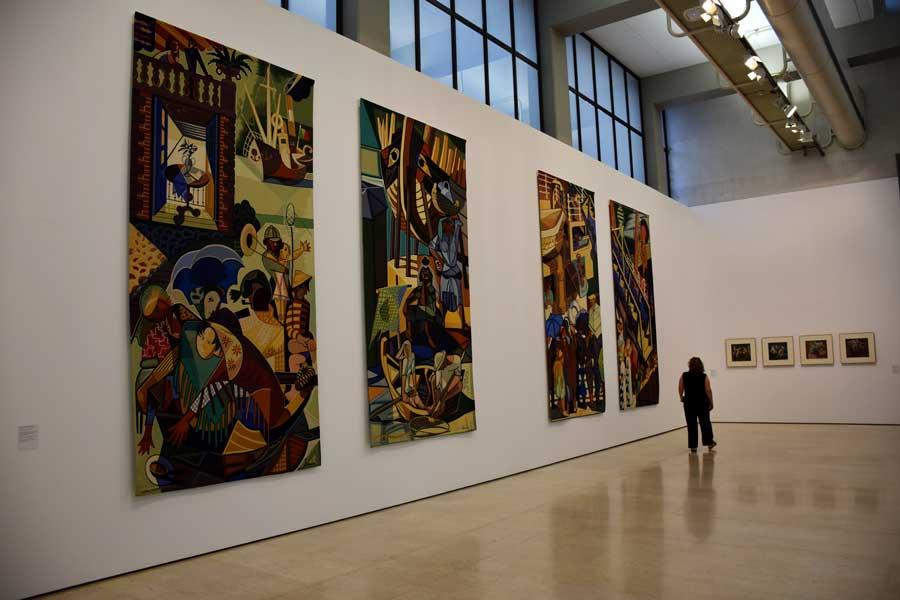 Lizbon Gülbenkyan Müzesi sergi salonları - Calouste Gulbenkian Museum (Museu Calouste Gulbenkian) Lisbon
