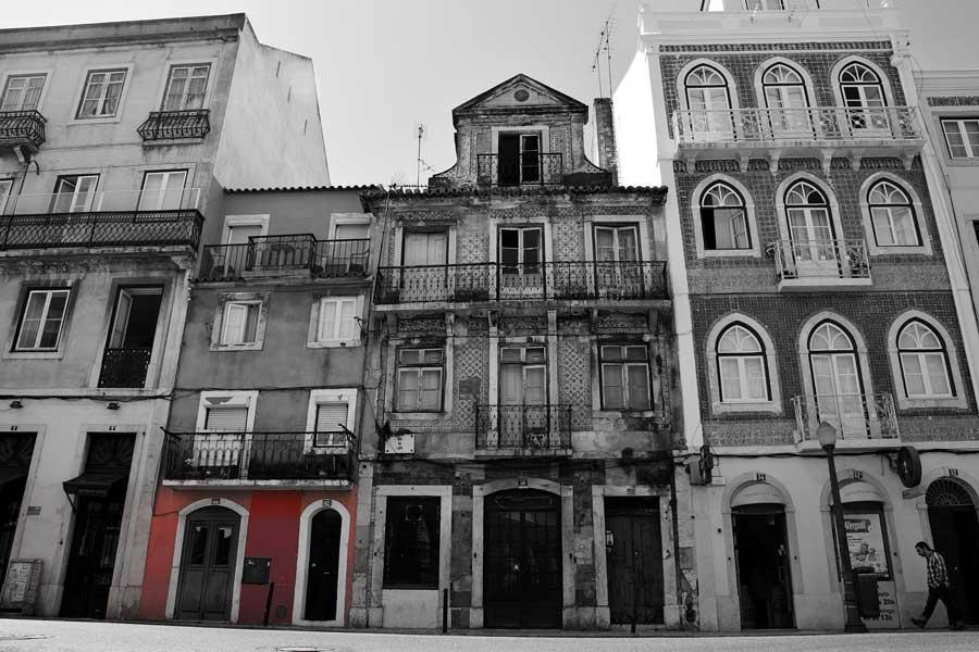 Lizbon Portekiz mimarisi ve Lizbon sokak fotoğrafları - Lisbon streets and Portugal architecture photos