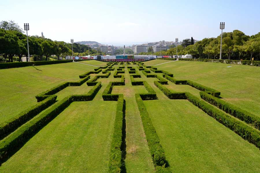 Lizbon fotoğrafları Lizbon gezilecek yerler Edward VII Parkı - Lisbon photos Edward VII Park