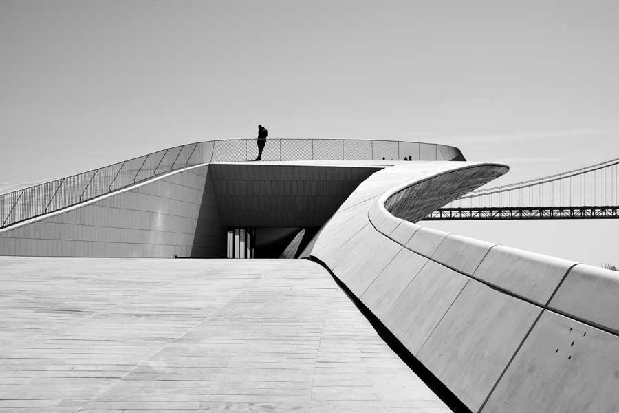 Lizbon MAAT Binası; Sanat, Mimarlık ve Teknoloji Müzesi Eserleri