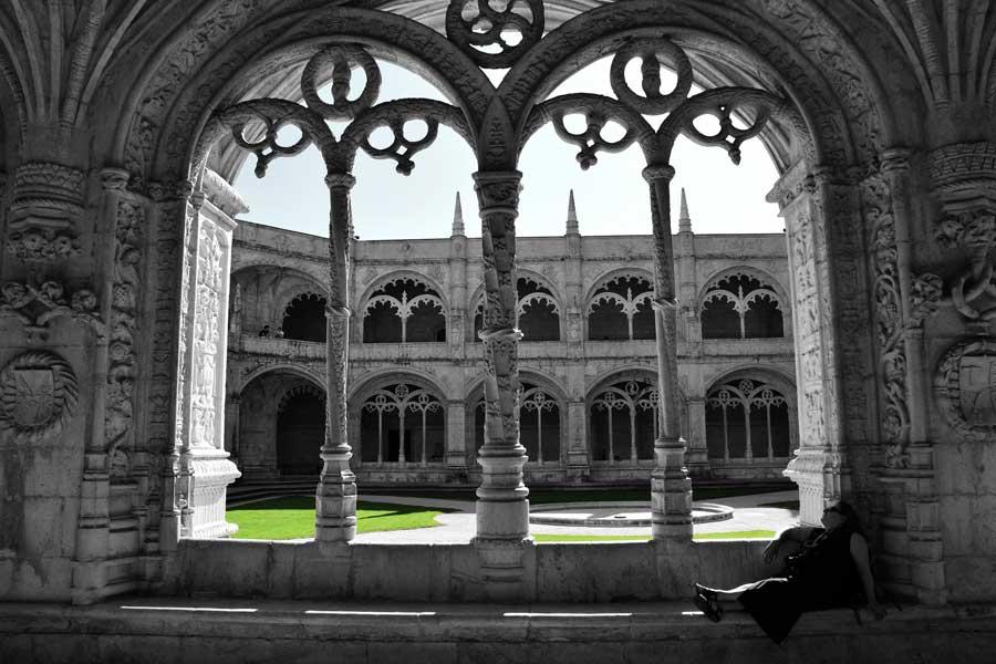 Lizbon gezilecek yerler Jeronimos Manastırı fotoğrafları - Lisbon Belem Jeronimos Monastry (Mosteiro dos Jerónimos) photos
