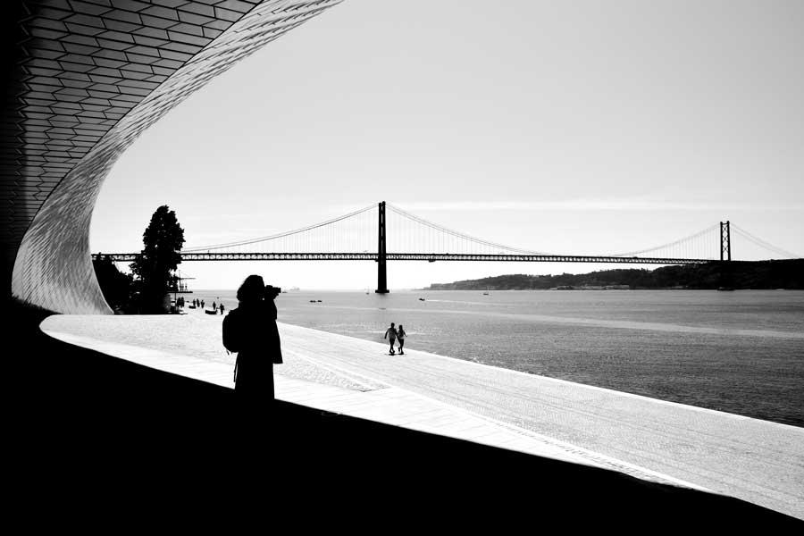 Lizbon gezilecek yerler MAAT binası Sanat Mimarlık ve Teknoloji müzesi fotoğrafları - Lisbon Belem MAAT Museum of Art, Architecture and Technology