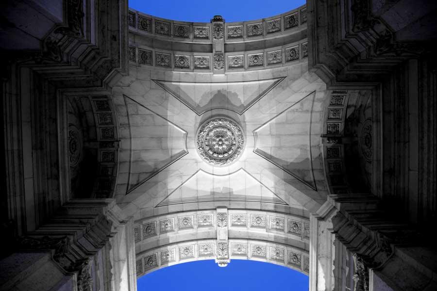 Lizbon gezilecek yerler Rua Augusta Takı - Lisbon Rua Augusta Arch (Arco da Rua Augusta)