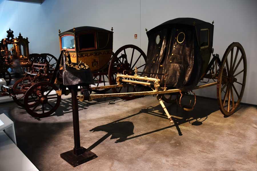 Lizbon müzeleri Ulusal Fayton Müzesi fotoğrafları - Lisbon National Coach Museum (Museu Nacional dos Coches)