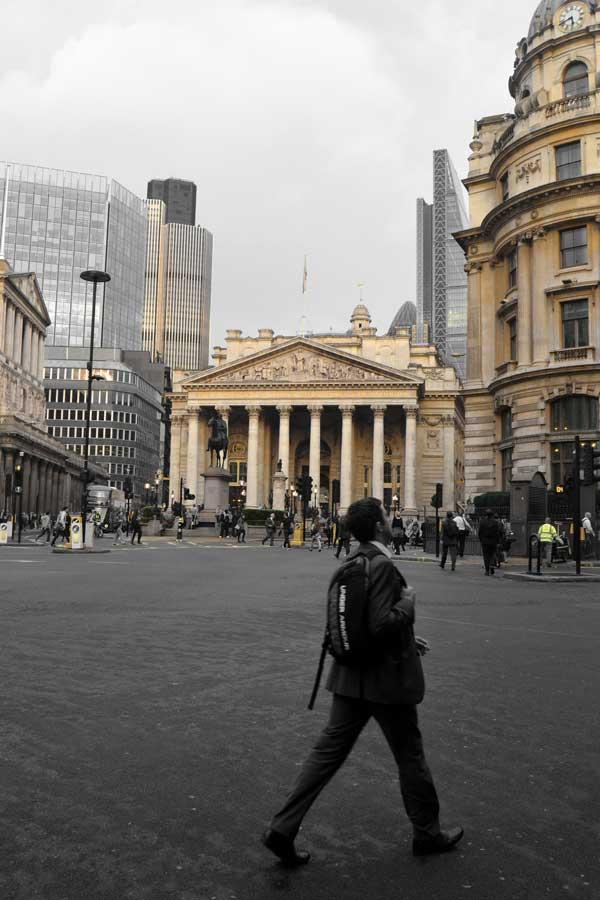 Londra fotoğrafları İngiltere bankası - London photos Bank of England