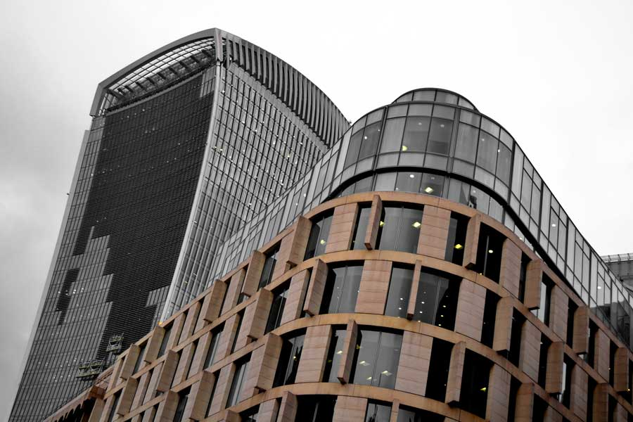Londra fotoğrafları - London photos 20 Fenchurch the silhouettes of the city