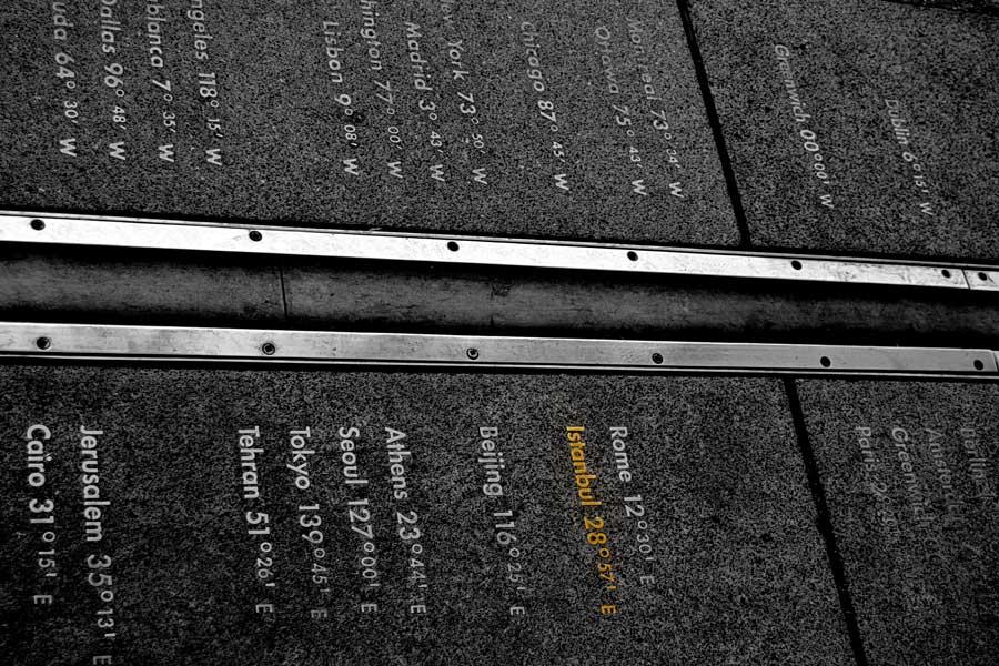 Londra gezilecek yerler Greenwich başlangıç meridyeni veya sıfır meridyeni - London photos Greenwich prime meridian