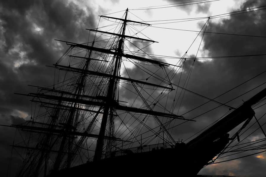 Londra gezilecek yerler Greenwich dünyaca ünlü Cutty Sark İngiliz clipperi - London Cutty Sark British clipper ship