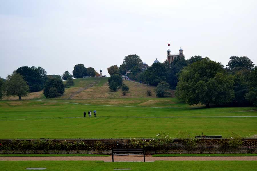 Londra gezilecek yerler Greenwich parkı - London photos Greenwich fields
