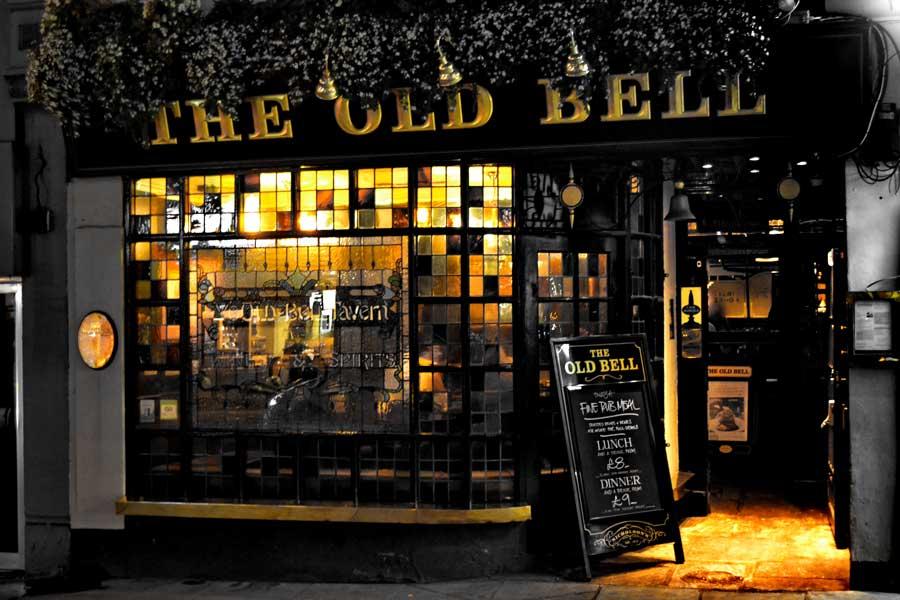 Londra gezilecek yerler ve Londra pubları - London The Old Bell pub