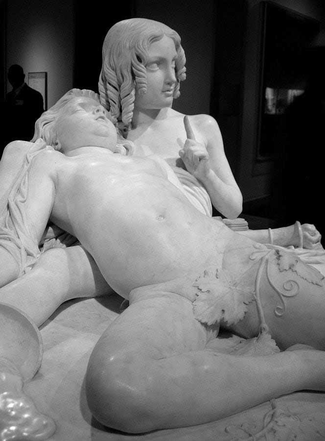 New York Metropolitan Müzesi eserleri fotoğrafları - New York City Metropolitan Museum La Table aux Amours (Lorenzo Bartolini)