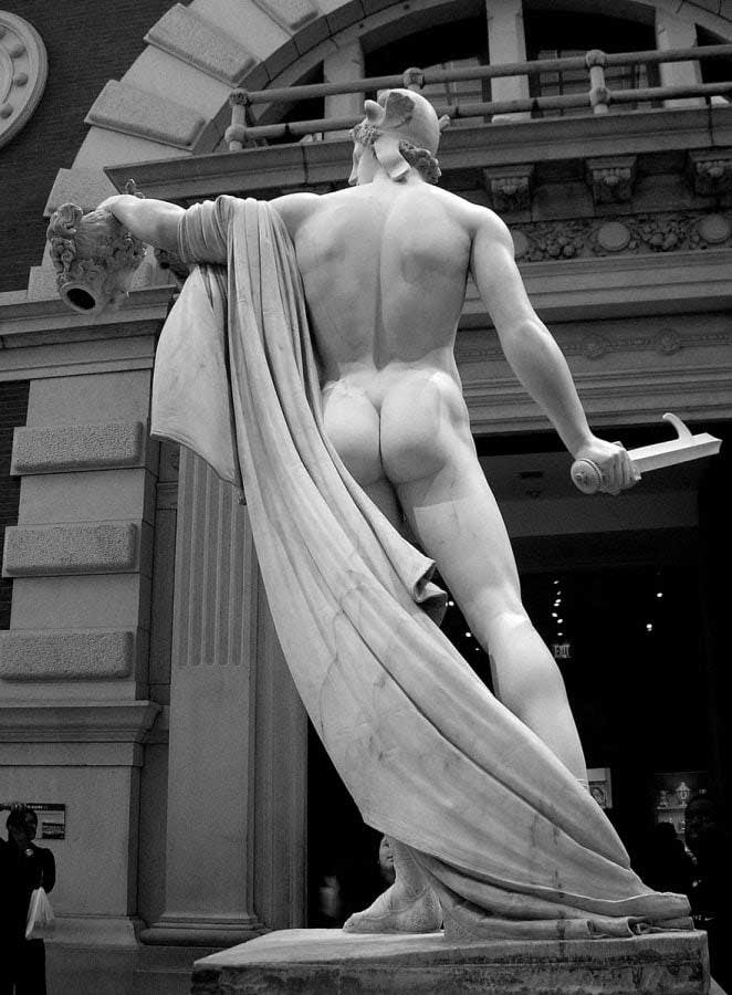 New York Metropolitan Müzesi fotoğrafları - New York City Metropolitan Museum Perseus with the Head of Medusa (Antonio Canova) photos