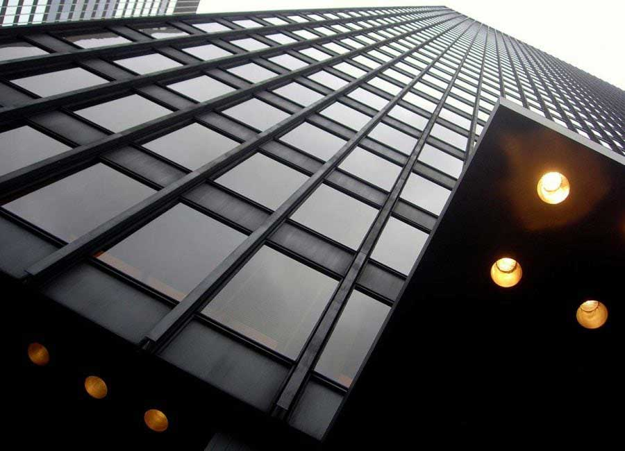 New York Seagram Binası fotoğrafları - New York City Seagram Building Mies Van Der Rohe