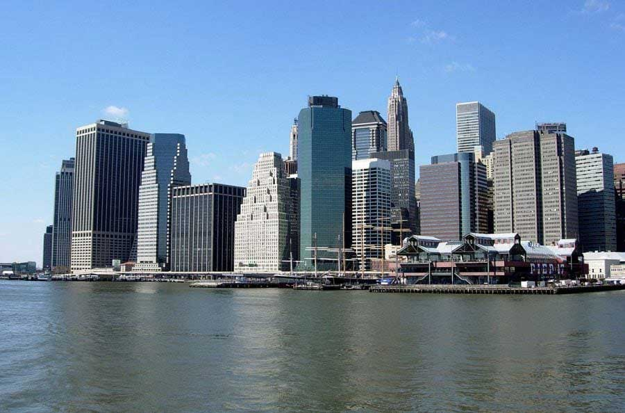 New York fotoğrafları Manhattan Finans Merkezi - New York City Manhattan Financial District