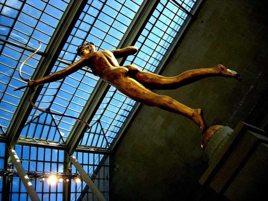 New York fotoğrafları Metropolitan Müzesi eserleri - New York city photos Metropolitan Museum Diana (Augustus Saint-Gaudens)