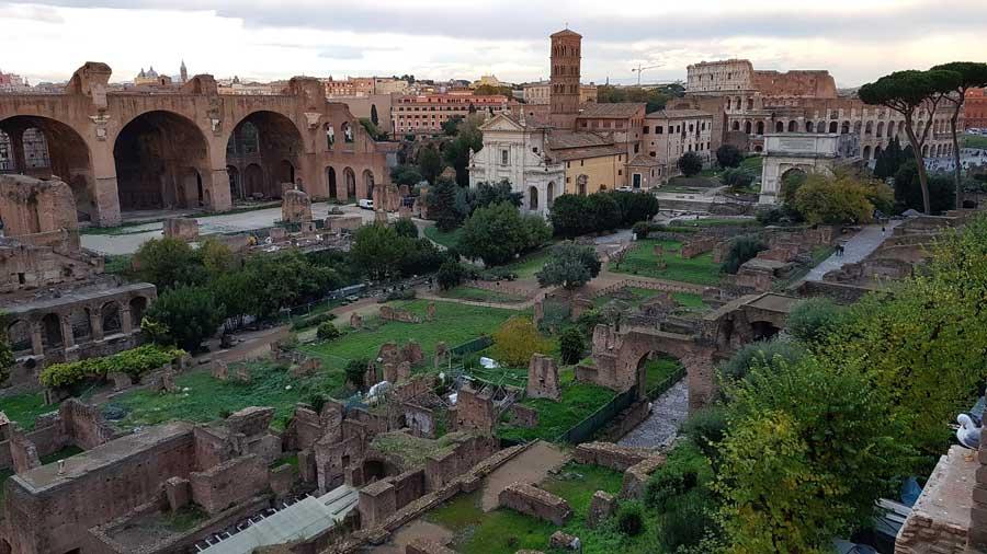 Palatino Tepesi Roma Forumu fotoğrafları - Rome Palatine Hill Roman Forum photos