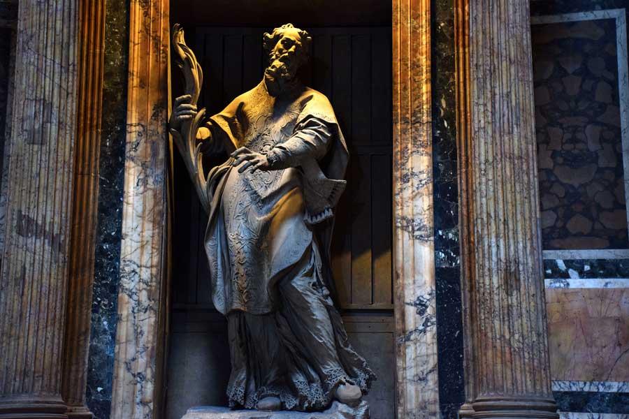 Pantheon heykelleri fotoğrafları - Rome Pantheon statues photos