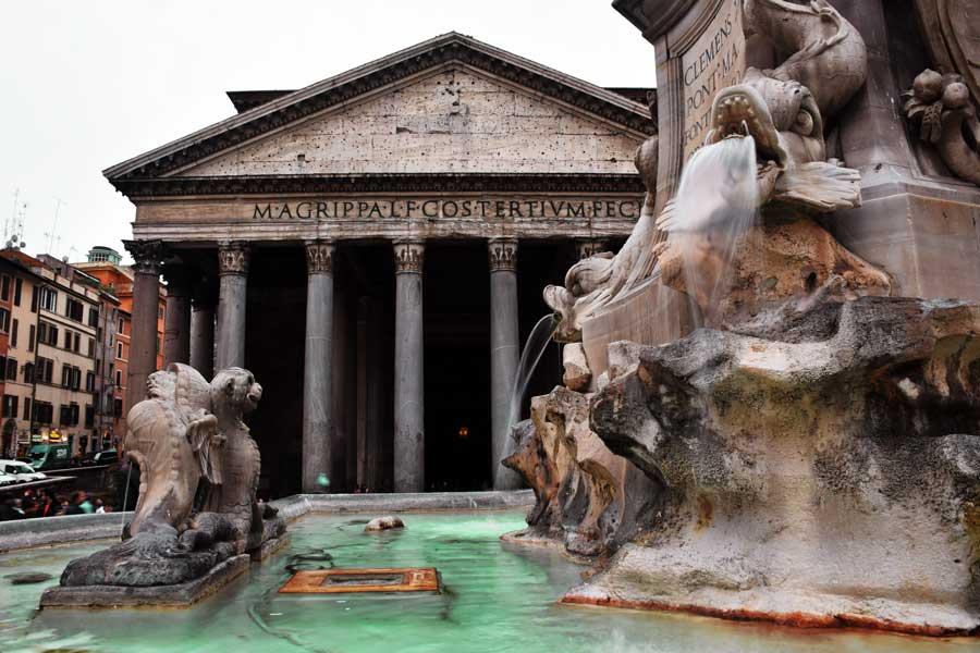 Roma Pantheon veya Panteon Tapınağı – Antik Roma Yapıları