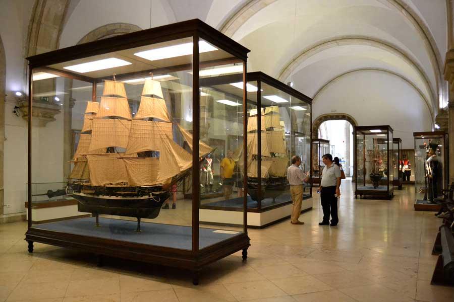 Portekiz Deniz Müzesi, Lizbon - Navy Museum, Portugal (Museu de Marinha), Lisbon