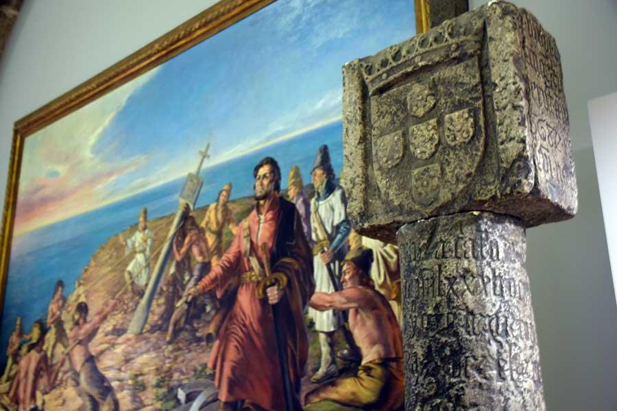 Portekiz Deniz Müzesi Portekizli kaşif Diego Cao ve Güneybatı Afrika'ya diktiği anıt, 15.yy