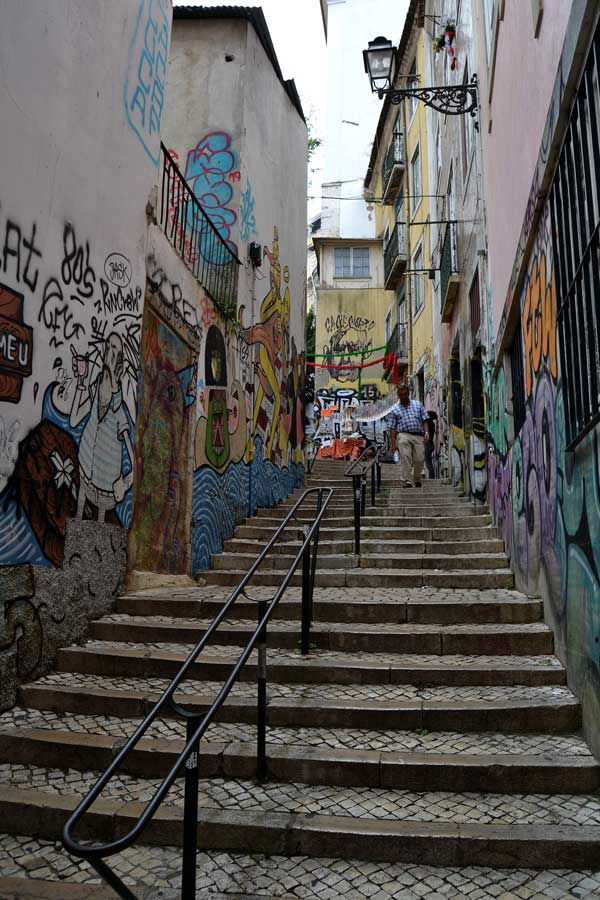 Portekiz güzergahı Lizbon sokakları - Portugal route Streets of Lisbon