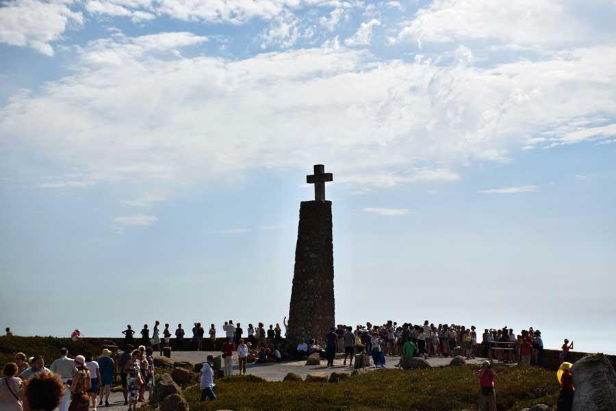 Portekiz gezilecek yerler Avrupa'nın en batı ucu Roca Burnu Anıtı - Cabo da Roca Roca Cape Monument Europe's westernmost