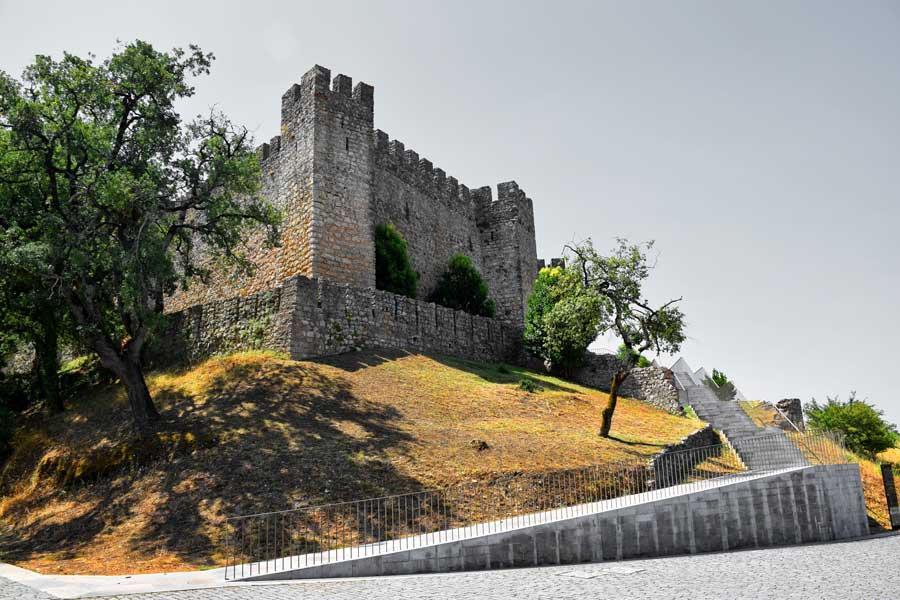 Portekiz gezilecek yerler Pombal Kalesi - Portugal Pombal castle photos (Castelo de Pombal)