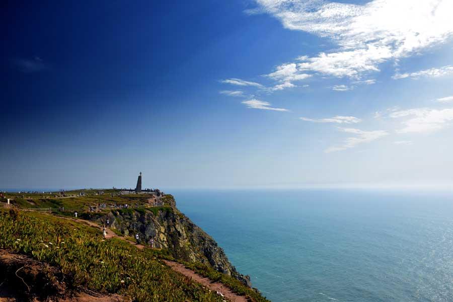 Portekiz gezilecek yerler Roca Burnu Anıtı Avrupa'nın en batı ucu fotoğrafları - Roca Cape Monument Europe's westernmost (Cabo da Roca)