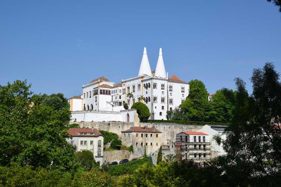 Portekiz gezilecek yerler Sintra Ulusal Sarayı fotoğrafları - National Palace of Sintra (Palácio Nacional de Sintra)