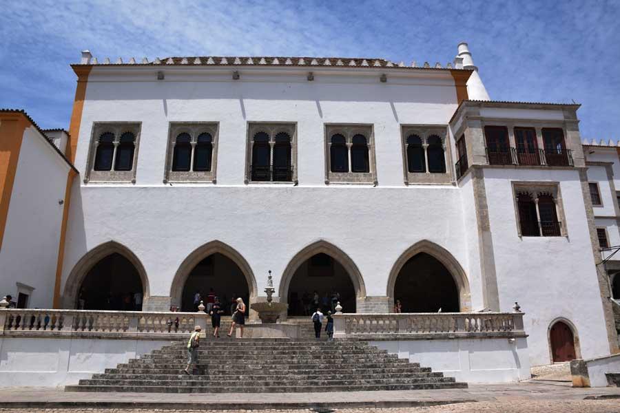 Portekiz gezilecek yerler Sintra Ulusal Sarayı fotoğrafları - Portugal National Palace of Sintra