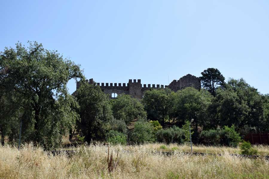 Portekiz gezilmesi gerekli yerler Pombal Kalesi fotoğrafları - Portugal Castle of Pombal (Castelo de Pombal)