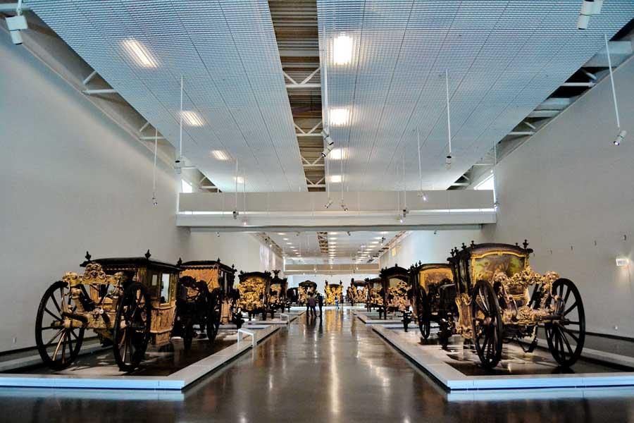 Portekiz müzeleri Ulusal Fayton Müzesi fotoğrafları - Lisbon National Coach Museum (Museu Nacional dos Coches)
